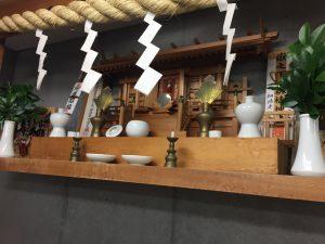 相模原・町田・八王子で自然素材の健康住宅を提供する相陽建設、業務中にお酒を買いましたが神棚のためですよ