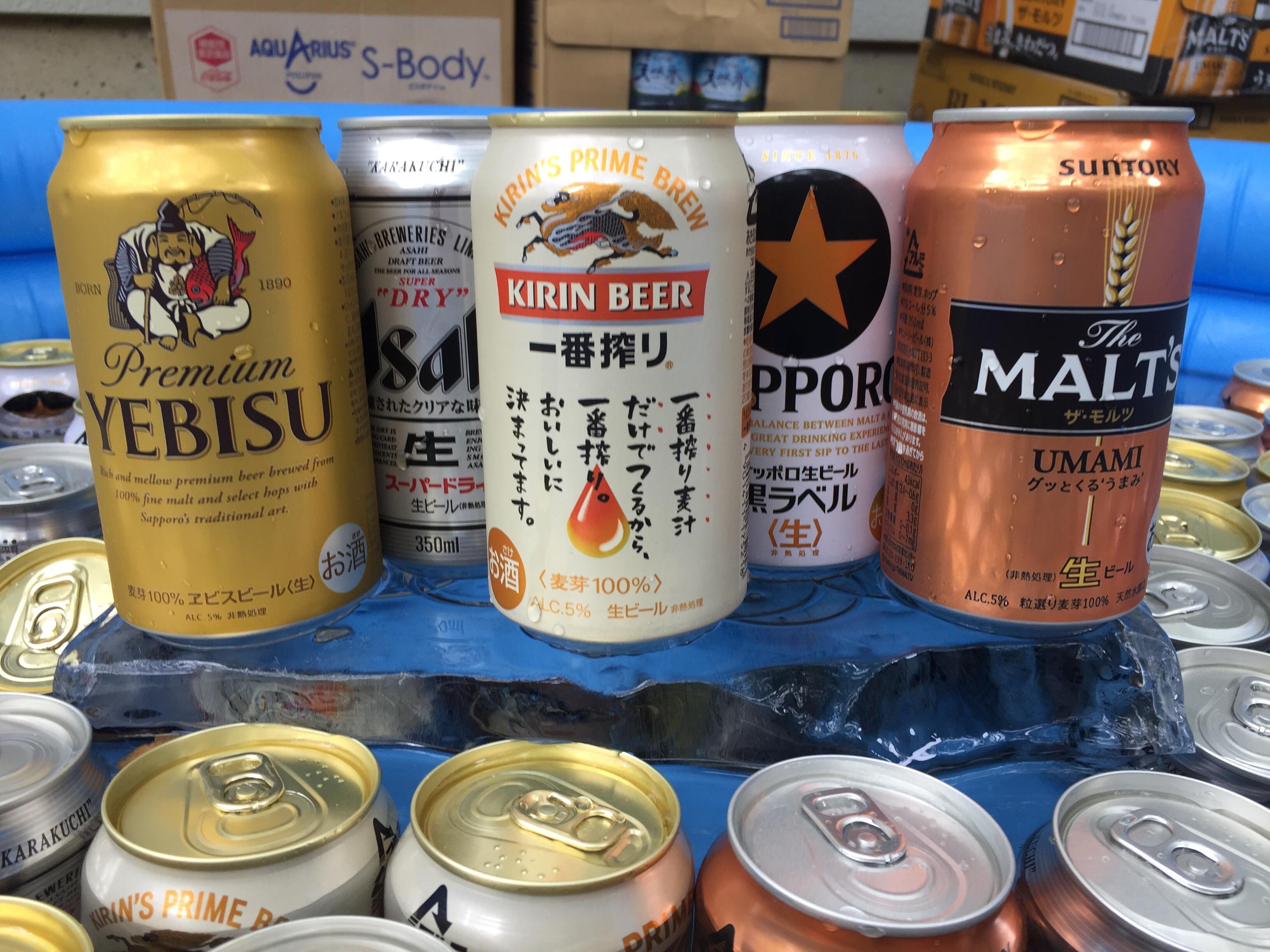 相模原・町田・八王子で自然素材の健康住宅を提供する相陽建設のファミQフェスタ、ビールはこの豪華ラインナップ
