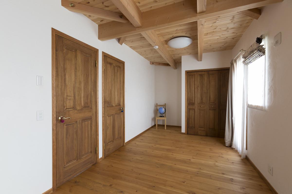 自然素材の部屋