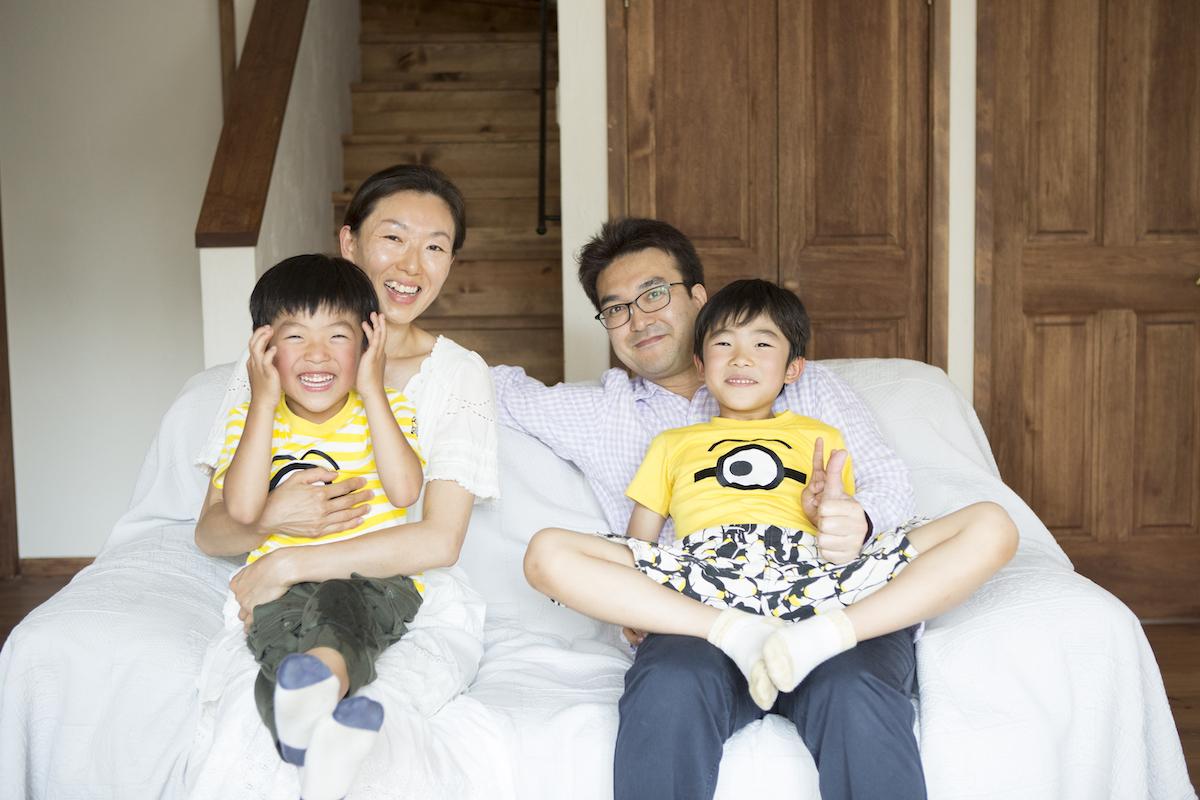 ご家族の集合写真