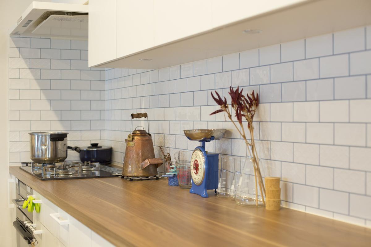 収納力も兼ね備えたキッチン